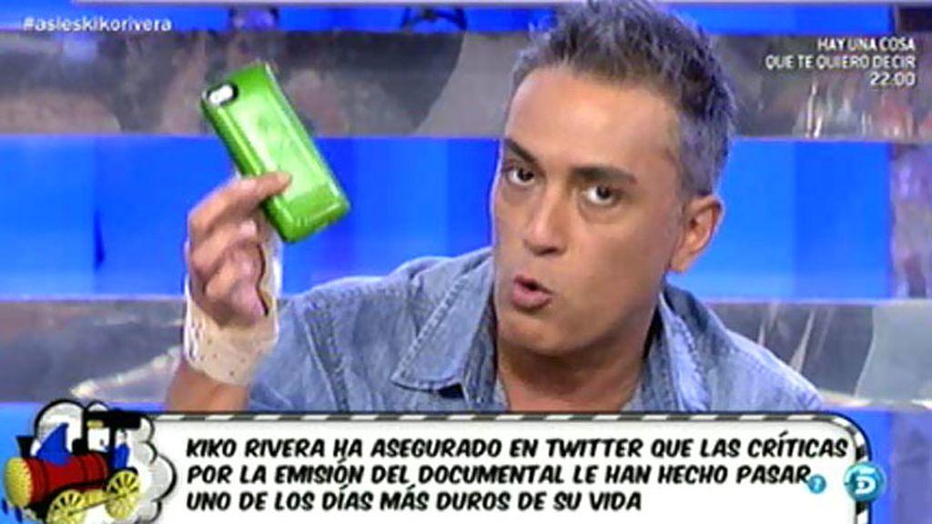 """Kiko Hernández: """"No paro de recibir amenazas de todo tipo en Twitter"""""""