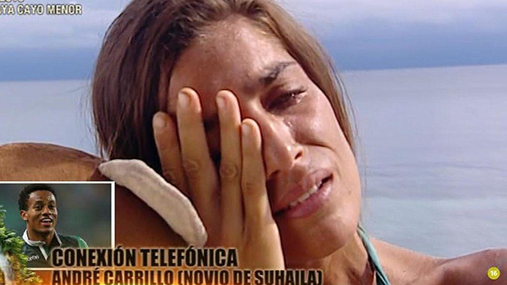 """Suhaila, a su novio André Carrillo: """"Eres el hombre de mi vida"""""""
