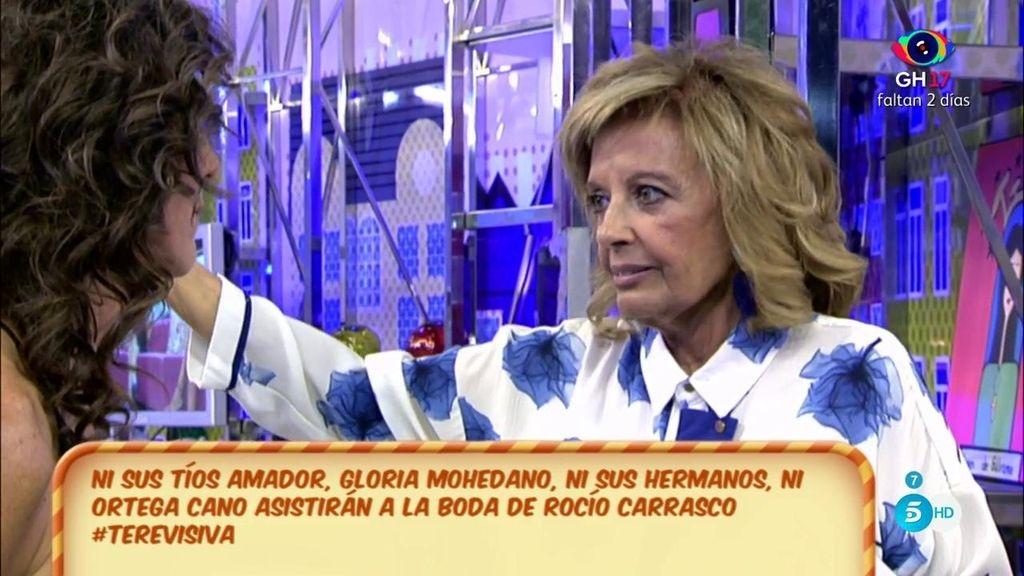 """Mª Teresa, de R. Carrasco: """"Su madre estará presente para todos los que la queremos"""""""