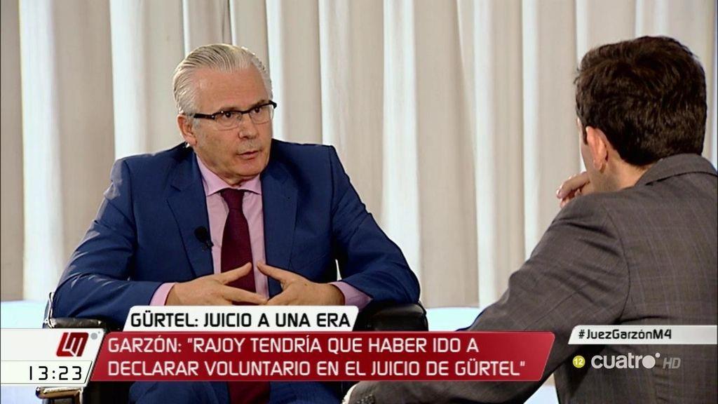 "Garzón, sobre Cospedal: ""Me avergüenza que un político interfiera en el proceso"""
