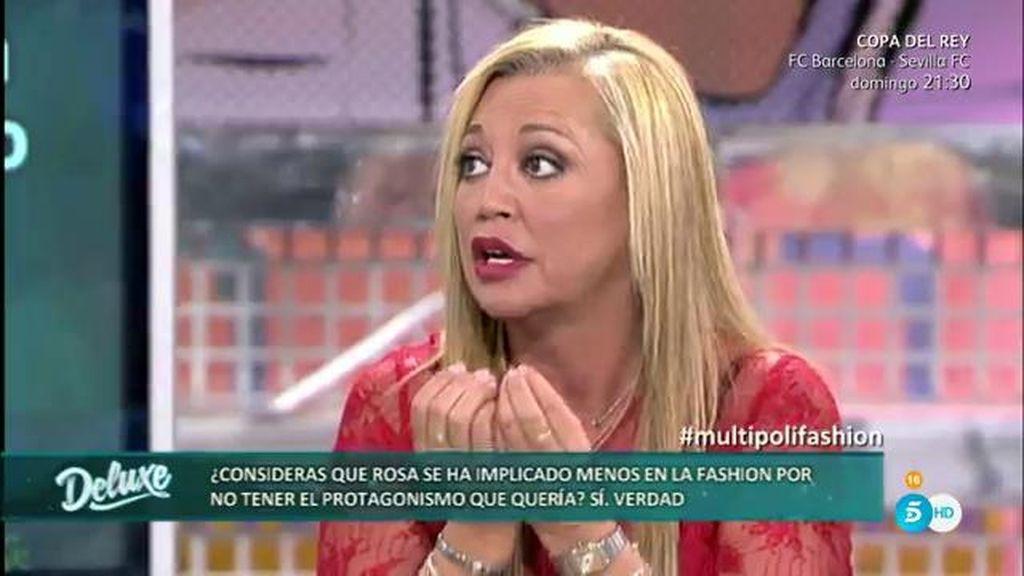 """Belén Esteban, de Rosa Benito en la 'SFW': """"No la vi disfrutar"""""""