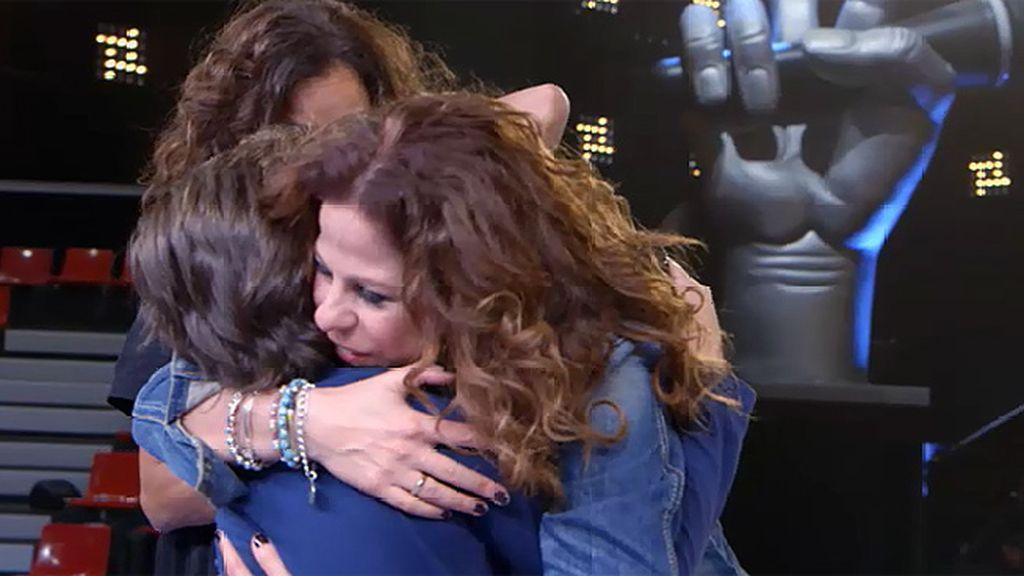 Pastora Soler se emociona durante los ensayos de Nacho