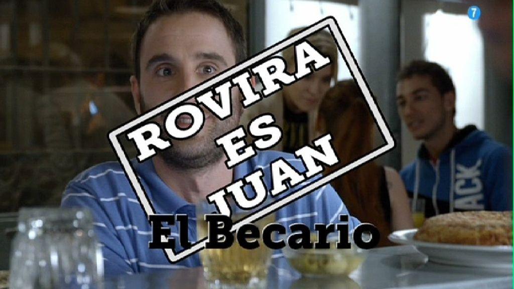 Dani Rovira es Juan, becario
