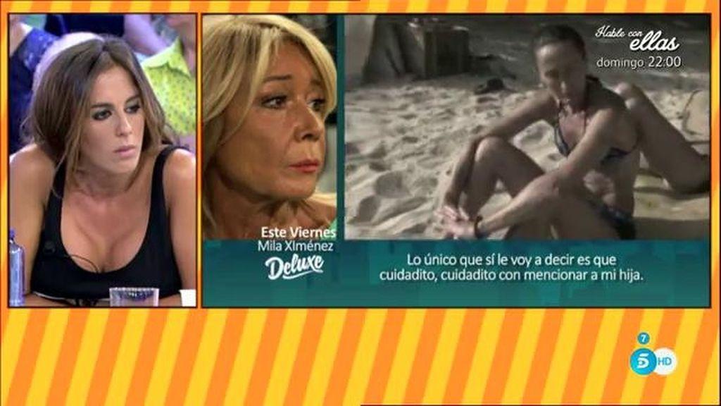 """Mila Ximénez, tras los ataques de Dulce: """"Esta es la persona de la que yo hablo"""""""