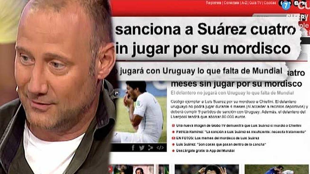 """Pedro Gª Aguado, sobre Luis Suárez: """"Creo que no comía bien la expedición de Uruguay"""""""