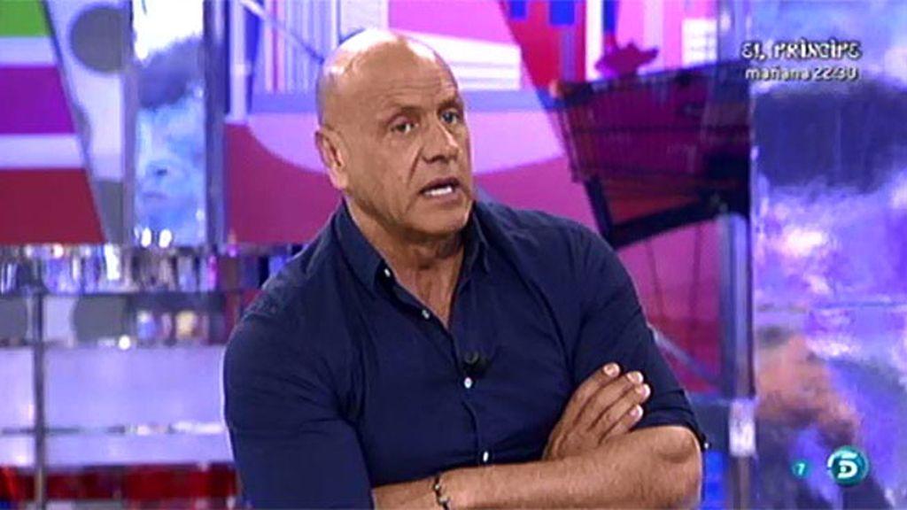 ¿Está Amador en contra de Diego Matamoros por las rencillas con su padre?