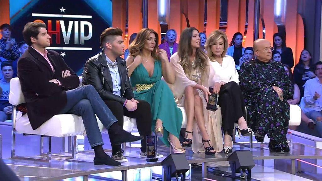 """Laura Matamoros: """"Este sillón rojo es para Carlos y yo me voy con mis amigos"""""""