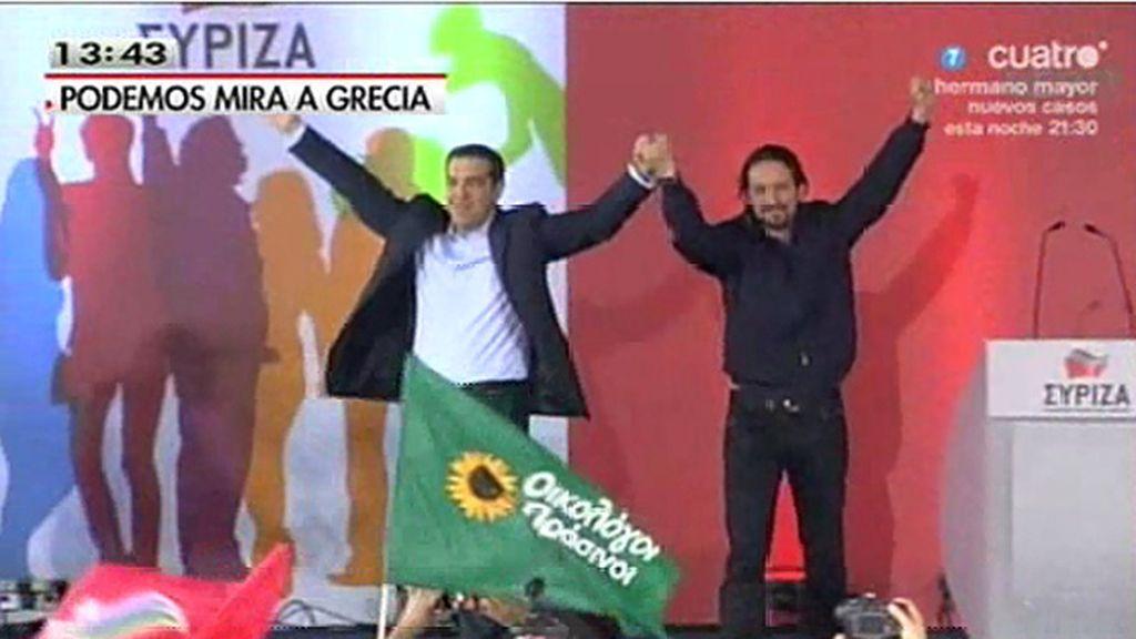 """P. Iglesias: """"Apoyamos a Syriza porque es la alternativa pero nosotros tendremos que hacer nuestros propios deberes"""""""