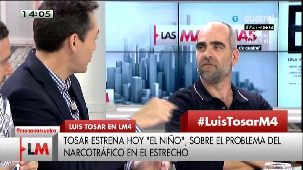 """Luis Tosar: """"Montoro me ha abierto una investigación fiscal"""""""