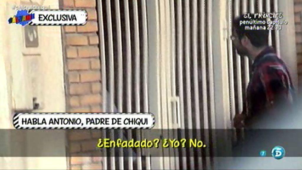 """Antonio, padre de Chiqui: """"Mi señora ha hablado con mi yerno, lo vemos todo bien"""""""