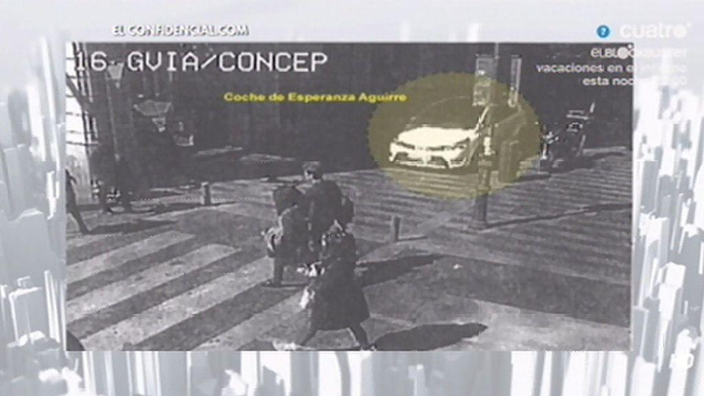 Las imágenes del incidente de Aguirre con los agentes de movilidad