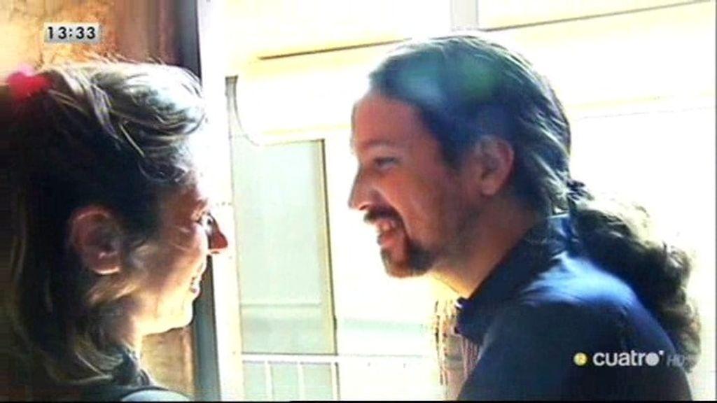 'Las mañanas', 24 horas con Pablo Iglesias