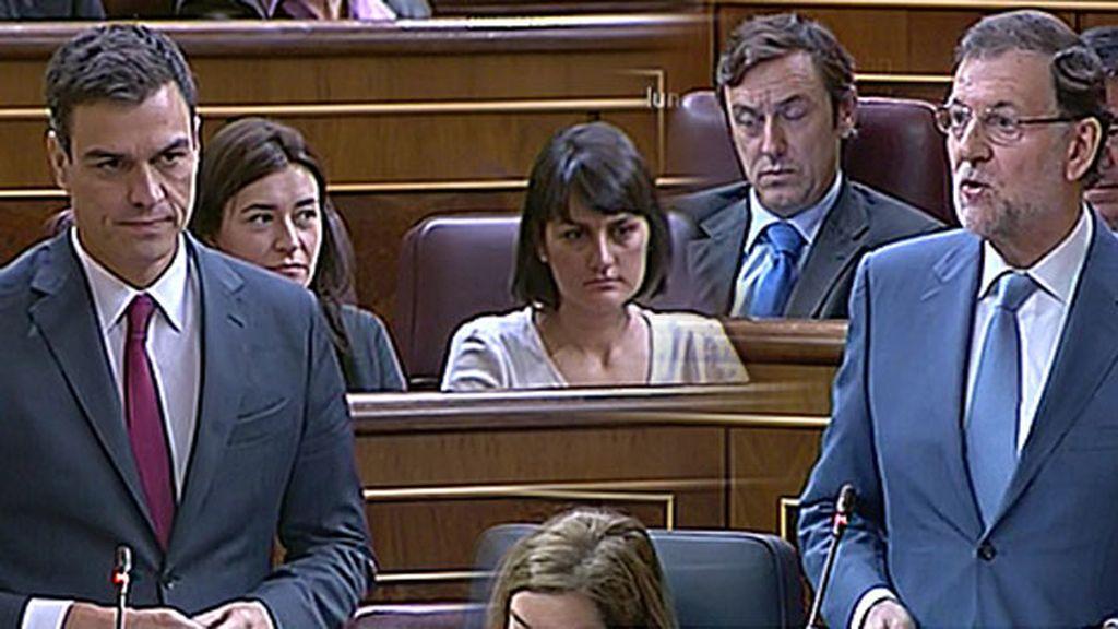 """Pedro Sánchez, a Rajoy: """"Tenemos una Ministra de Sanidad que no se encarga de nada, afortunadamente"""""""