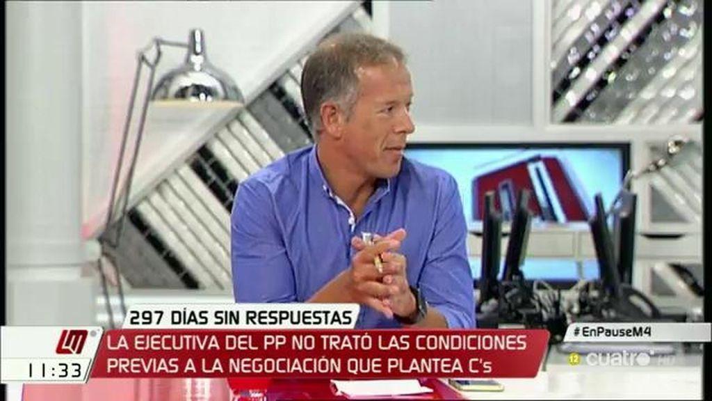 """A. Gil (PSOE): """"Presentaremos una iniciativa para forzar a la presidenta del Congreso a convocar la sesión de investidura"""""""