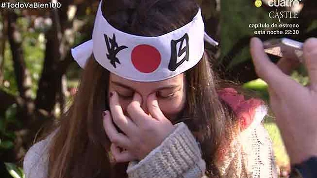 Una suegrita Kamikaze, a punto de tomar ansiolíticos tras la llamada de su hija