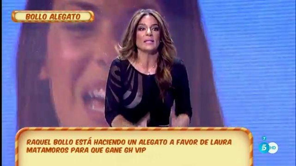 """R. Bollo: """"Laura es auténtica, fresca, natural y no conoce los medios como Lozano"""""""
