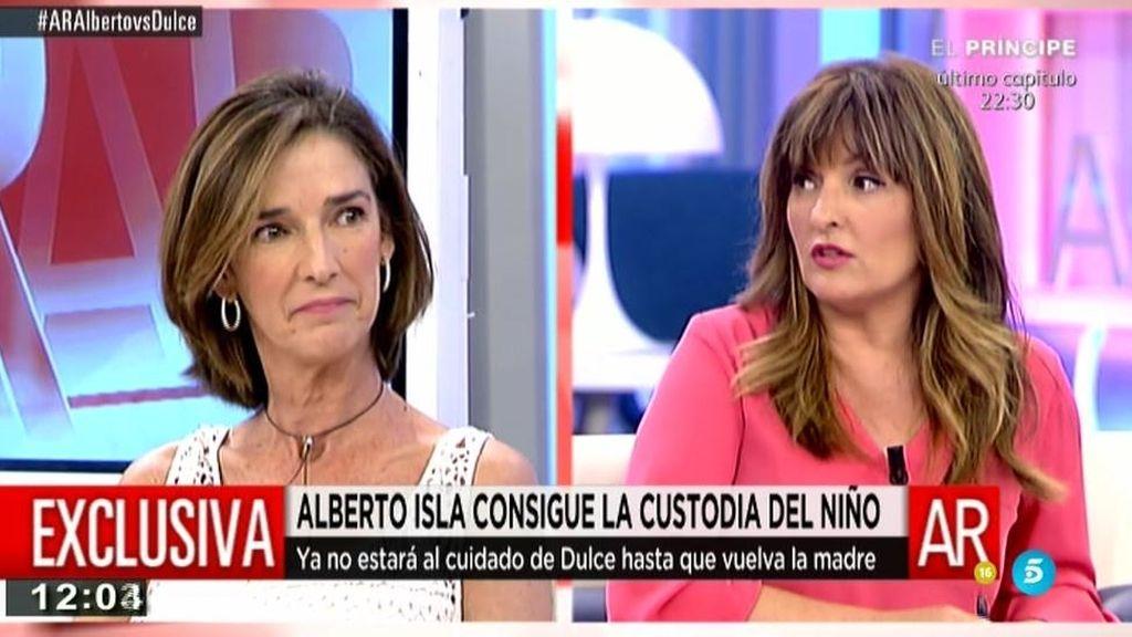 """Beatriz Cortázar: """"La defensa de Chabelita dice que el niño está con Alberto Isla por vacaciones"""""""