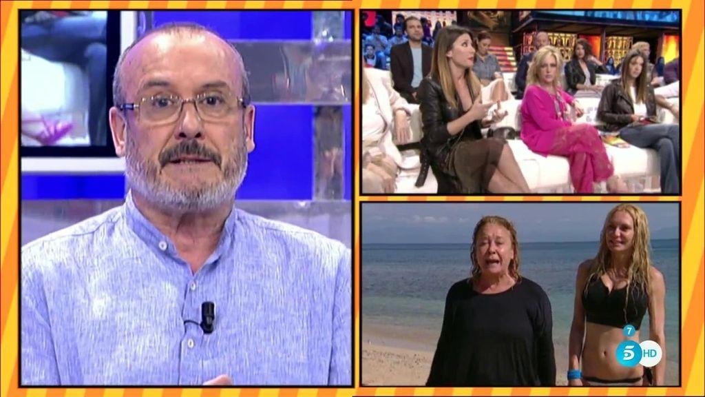 Manolo Ximénez zanja su polémica con Nagore Robles