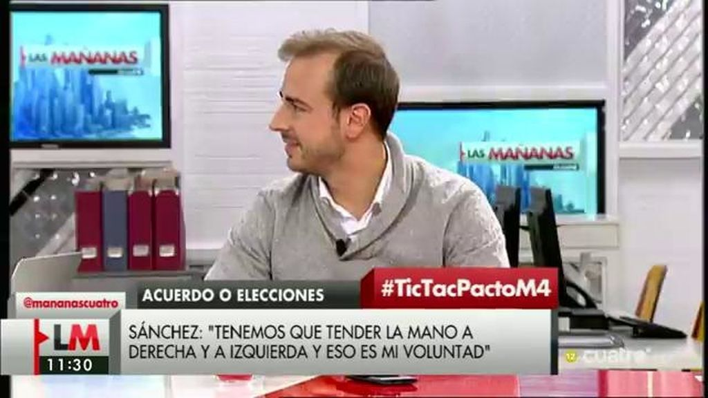 """Javier Dorado: """"si hay alguien que está bloqueando España es Pedro Sánchez"""""""
