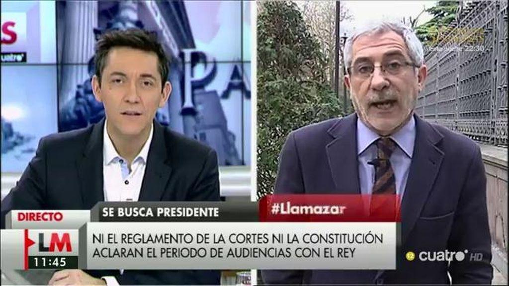 """Llamazares: """"Rajoy quiere atrincherarse en el Congreso para disparar a cualquier alternativa"""""""
