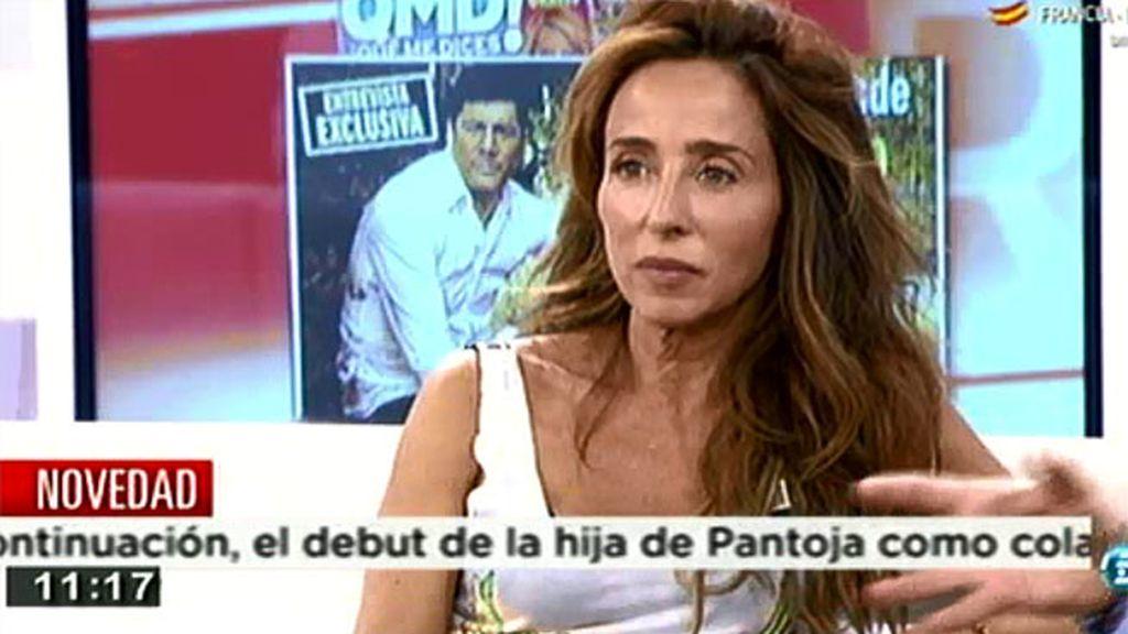 """Ana Rosa, a María Patiño: """"Enhorabuena, lo has hecho fenomenal en el 'Deluxe"""""""