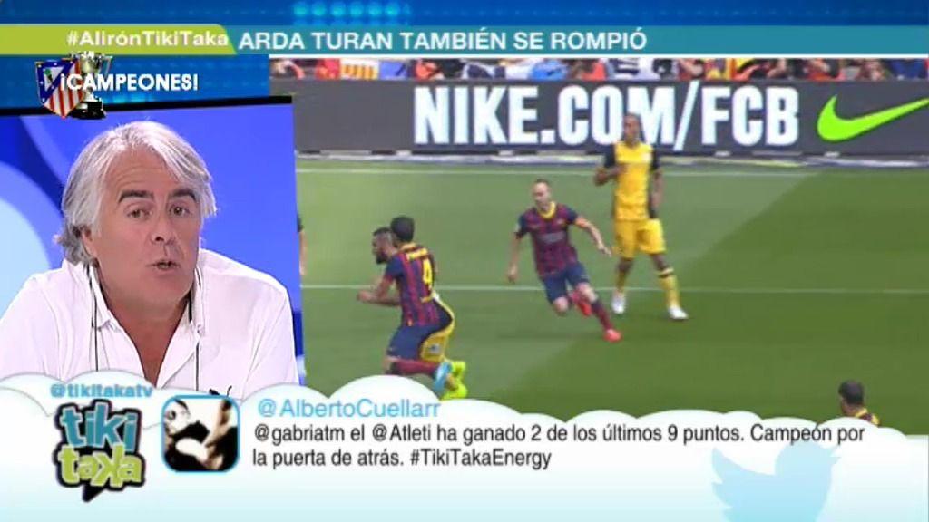 """Siro López: """"Lo que ha pasado hoy hace más grande al Atleti. Hacen falta muchas pelotas"""""""
