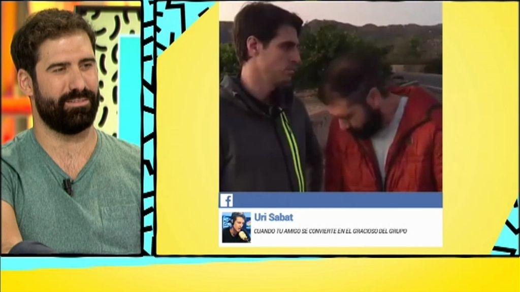 Uri Sabat es un colaborador habitual en los vídeos de Jorge Cremades