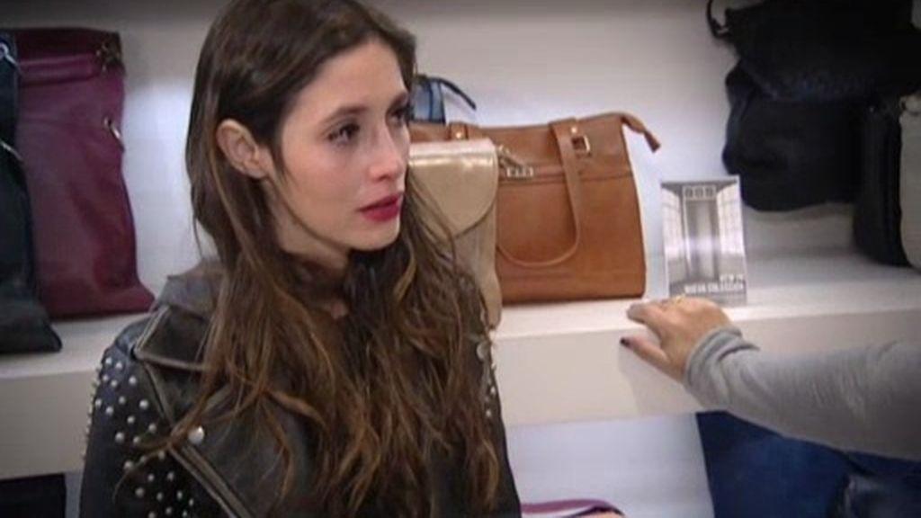 Paula angustiada y sola frente a Alejandro, este miércoles en 'Quiero Ser 2'