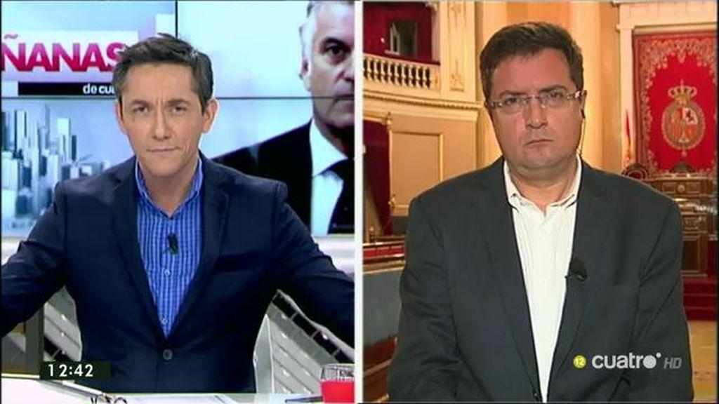 """Óscar López: """"Hay que poner fin a este método verdaderamente mafioso de financiación irregular"""""""