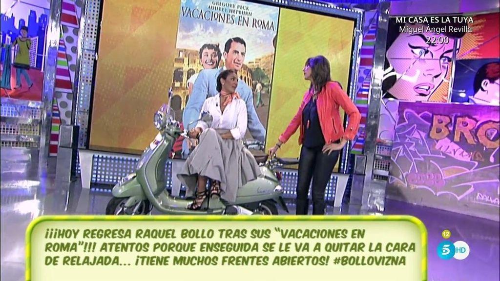Raquel Bollo vuelve como Audrey Hepburn