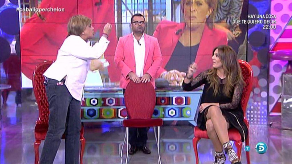 """Chelo García Cortes, a Raquel Bollo: """"Me has lapidado con el tema de Chabelita"""""""