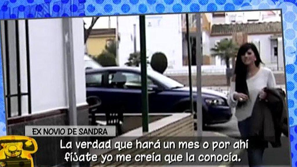 """El exnovio de Sandra: """"Ella es muy ambiciosa, sobretodo con el dinero"""""""