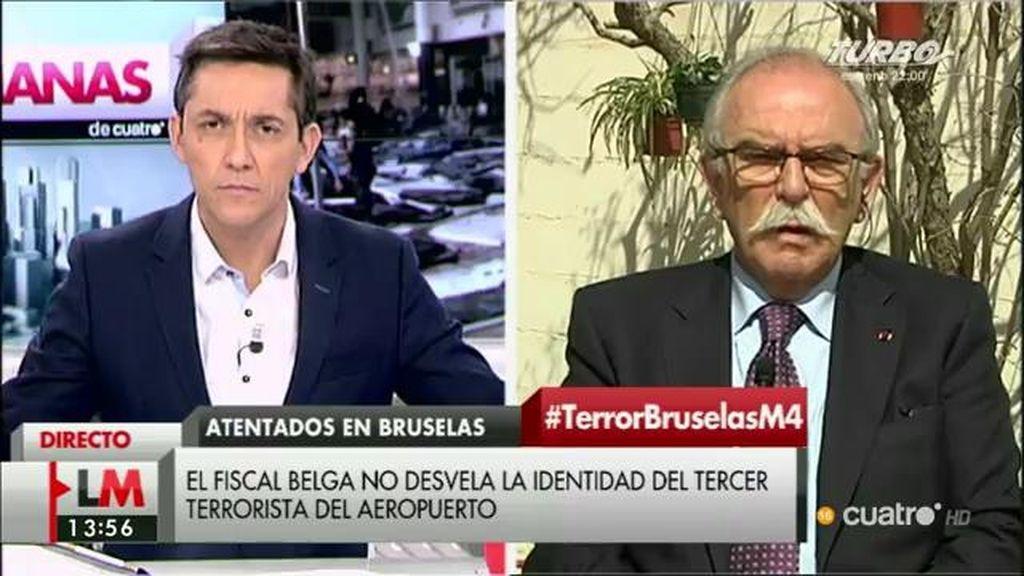 """Pedro Pitarch: """"No es una guerra al estilo clásico, hay un enemigo más sutil, complejo"""""""