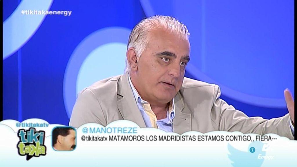 """Pedro Pablo San Martín: """"Luis Suárez no puede venir a competir con Benzema"""""""