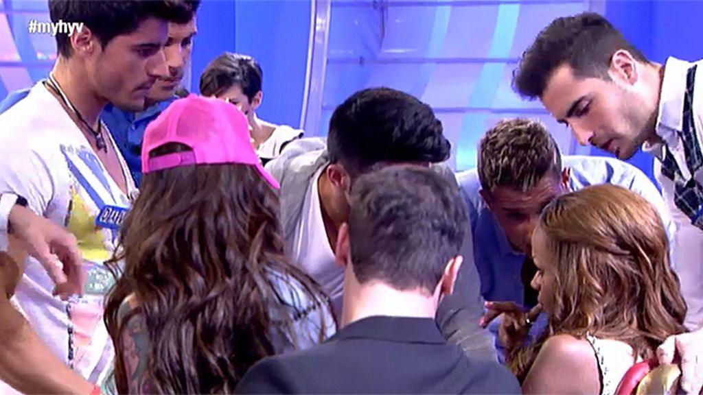 """Rubén, a Liz: """"Tus chicos estaban hablando mal de tí"""""""