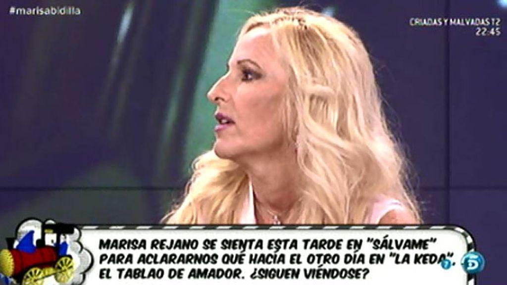 """Marisa Rejano, sobre Carolina Sobe: """"Ella me hizo la foto, ella sí quería publicidad"""""""
