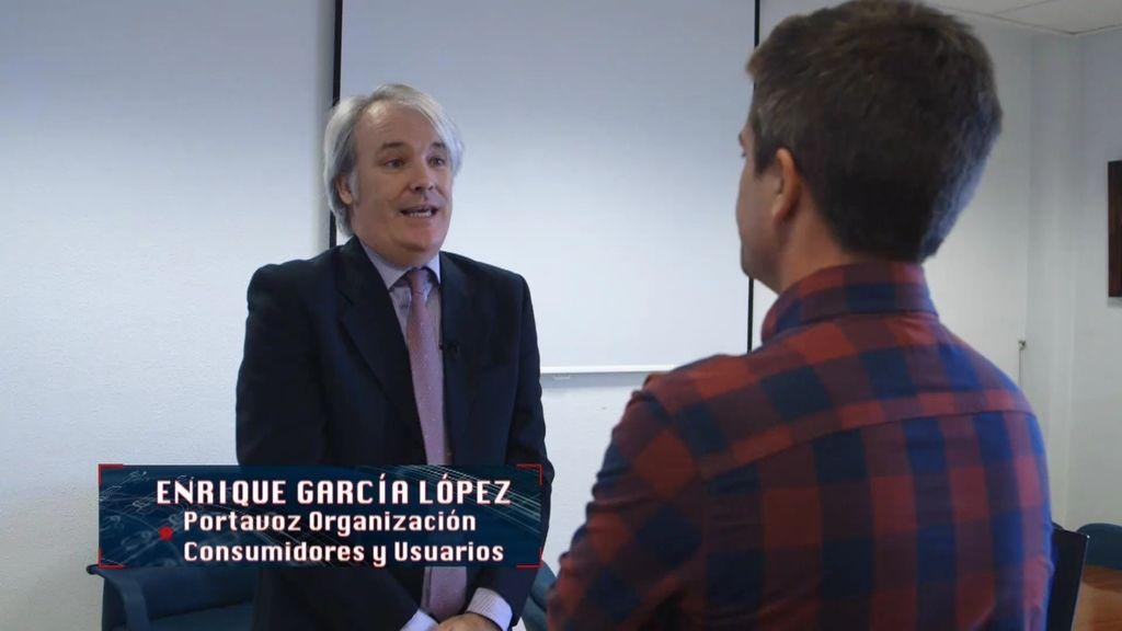 """Enrique García, portavoz de la OCU: """"Pagamos 25€ de tasa de reciclaje por un frigorífico que acabará en un vertedero"""""""