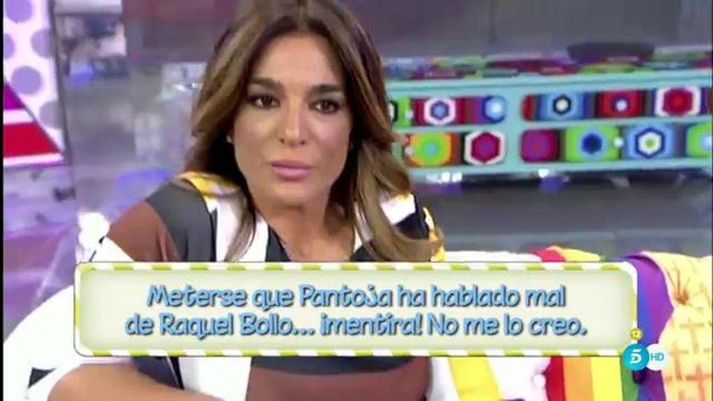 Una espectadora recrimina a Raquel Bollo que no haya escrito una carta a Pantoja