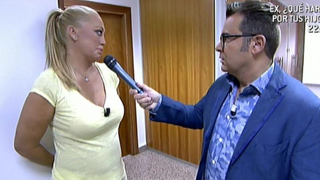 Jorge Javier Vázquez y Belén Esteban van a ver a Rosa Benito a los servicios médicos