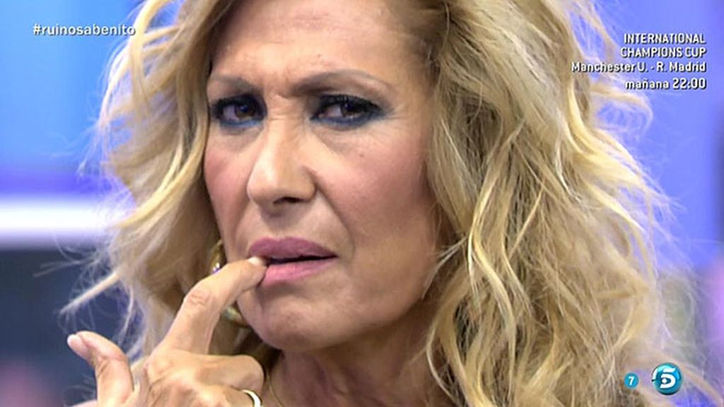 """Rosa Benito, a Amador Mohedano: """"¿Por qué le tienes miedo a Carolina?"""""""