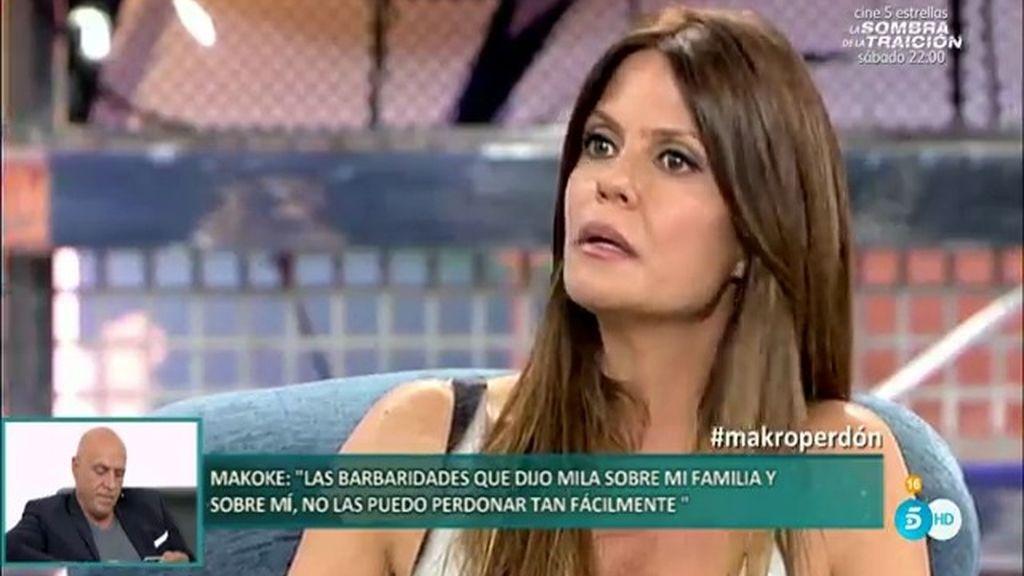 """Makoke: """"Si Mila también me hubiera mandado un mensaje privado la creería más"""""""