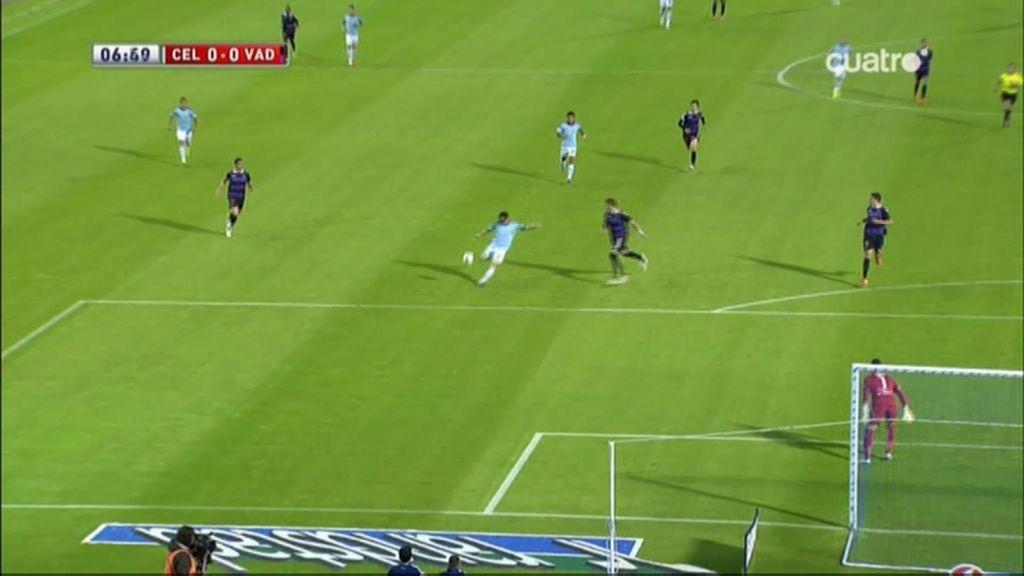 El Celta se estrella con dos postes en los primeros 12 minutos en Balaidos