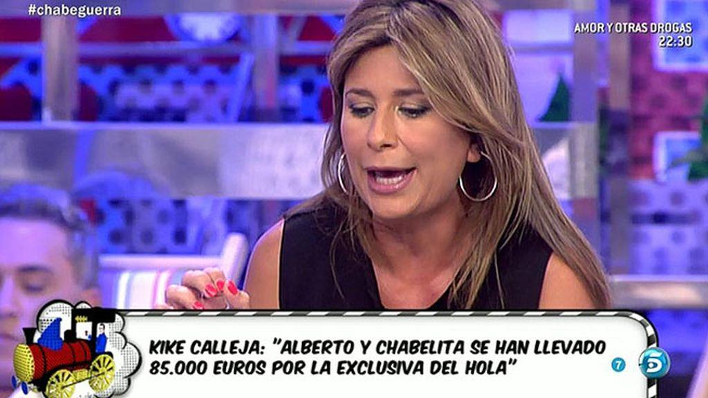 """Gema López: """"Alberto Isla le ha pedido matrimonio a Chabelita con una carta"""""""