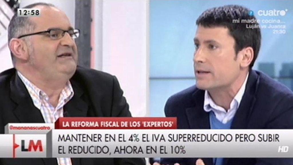 """J.L. Pérez: """"Antón, la demagogia funciona extraordinariamente bien en las tertulias"""""""
