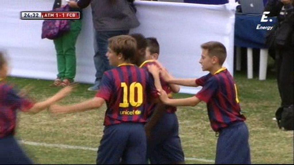 El Barcelona tira de picardía para empatar a falta de cinco minutos ante el Atlético