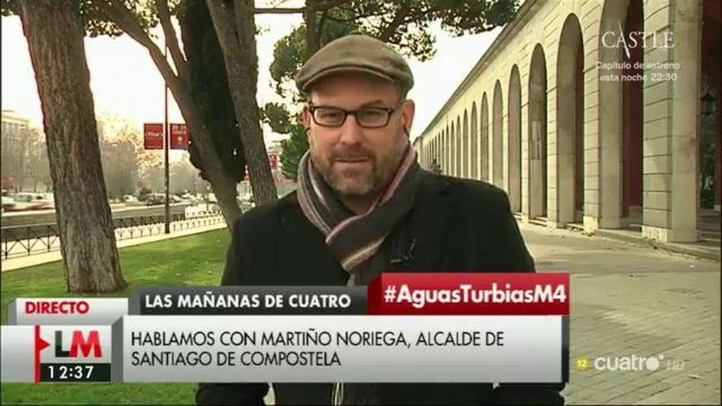 """Martiño Noriega: """"Algunos llevan años entendiendo que las instituciones y sus empresas públicas no dejan de ser una finca privada de sus intereses particulares"""""""