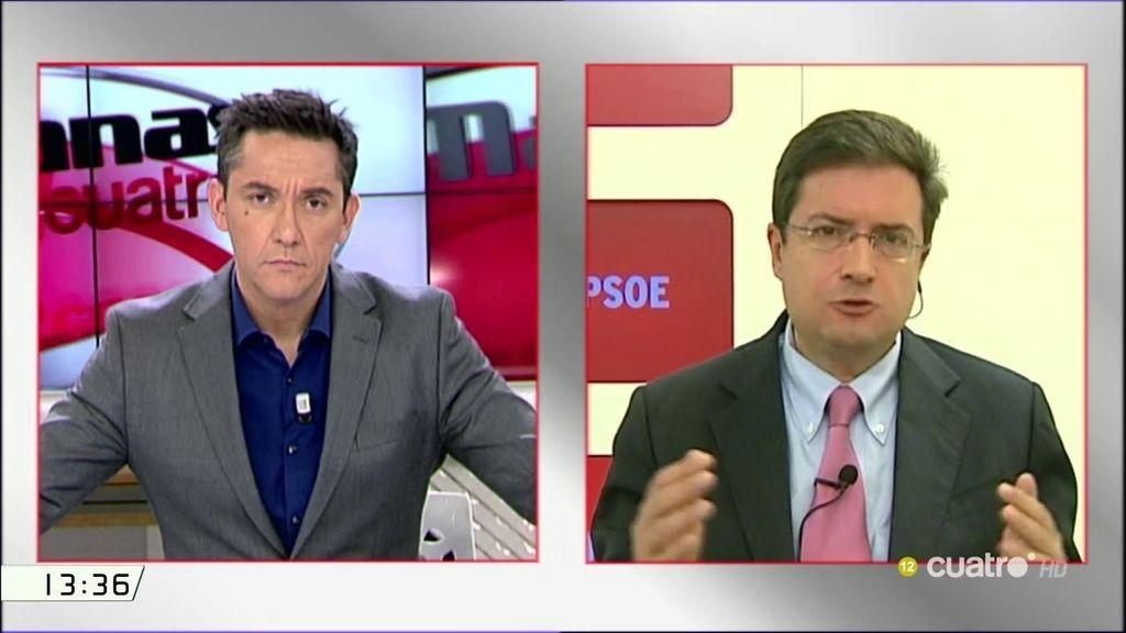 """O. López, sobre la petición del juez de 1,2 millones de euros al PP: """"Lo primero que tiene que hacer el PP es pagar"""""""