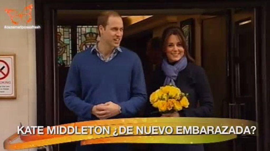 ¿Kate Middleton embarazada de un nuevo 'baby royal'?
