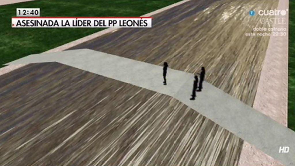 'LMDC' reconstruye cómo pudo producirse el asesinato de Isabel Carrasco