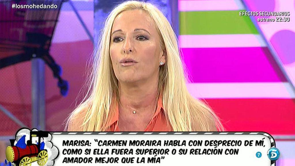 """Marisa Rejano: """"Yo empecé con Amador a escribir sus memorias"""""""